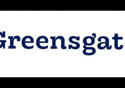 Videomapping loga Greensgate